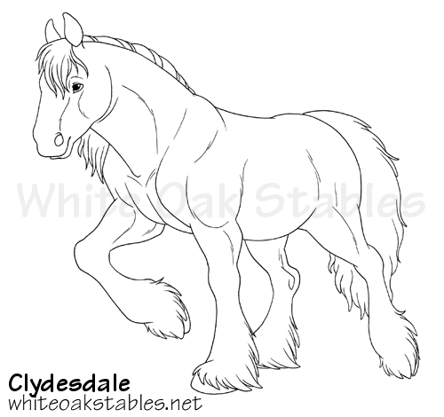 White Oak Stables Realistic Horse