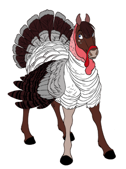 Gray Turkey