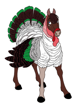 Dark Green Turkey