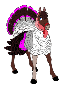 Dark Pink Turkey