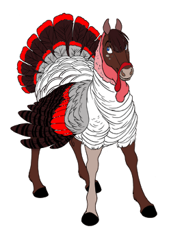 Dark Red Turkey
